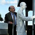 Inauguration Joe Wertheim monument 2005
